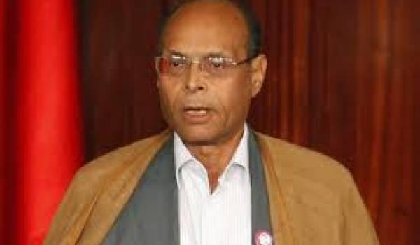 Moncef Marzouki, président de la République tunisienne.
