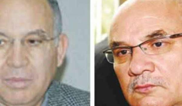 Abdelaziz Rahabi et Nacer Djabi.