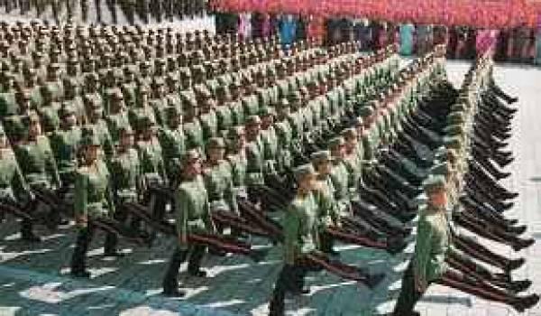 L'armée coréenne a reçu l'ordre de rentrer dans les casernes.