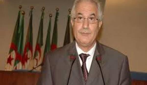 Tayeb Belaïz, ministre de la justice.