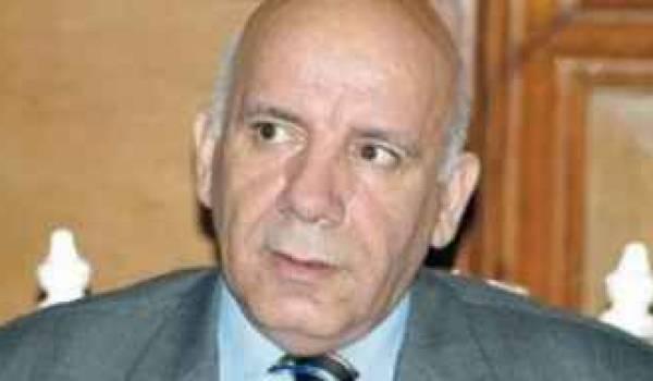 Rachid Benaïssa, ministre de l'Agriculture