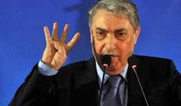 Le Coordonnateur du Pôle des Forces du Changement Ali Benflis