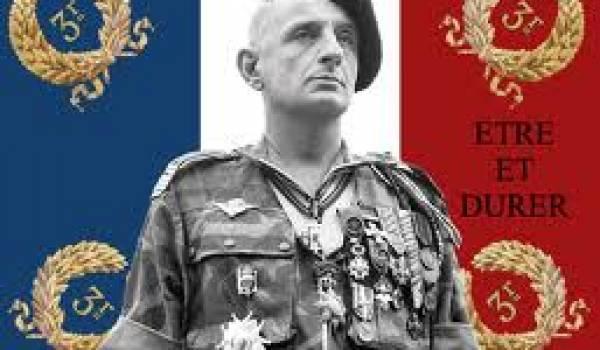 Marcel Bigeard, ancien résistant mais tortionnaire en chef à Alger en 1957.