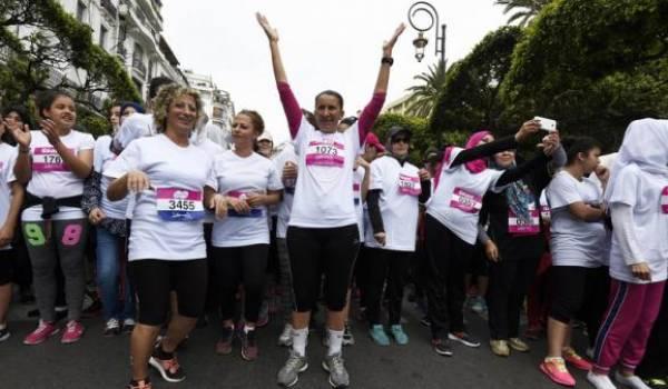 Un marathon de femmes à Alger !