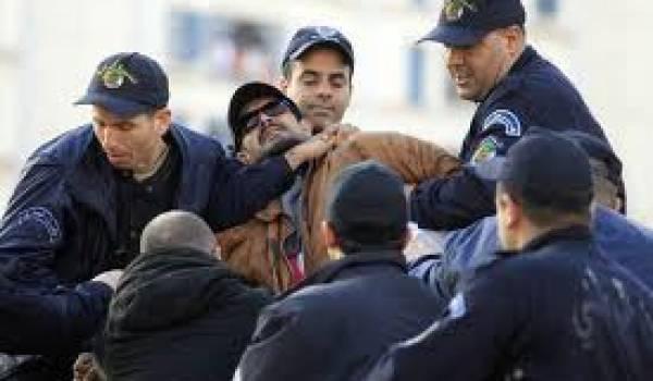"""Des """"barbouzes"""" du régime s'en prennent aux militants du RCD"""