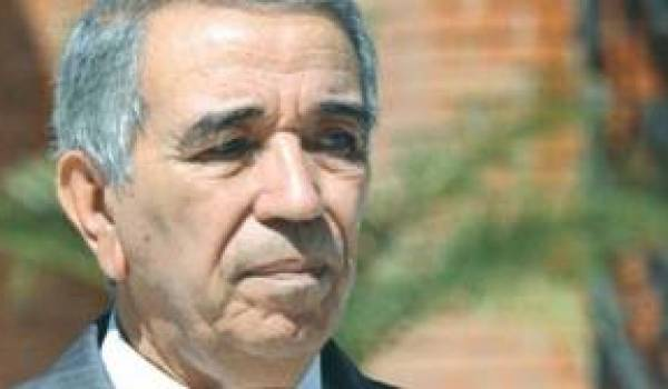 Daho Ould Kablia, ministre de l'Intérieur