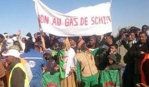 L'opposition au gaz de schiste ne baisse pas les bras.