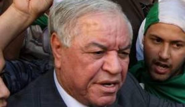 Abdelkader Hadjar, ambassadeur d'Algérie en Egypte.