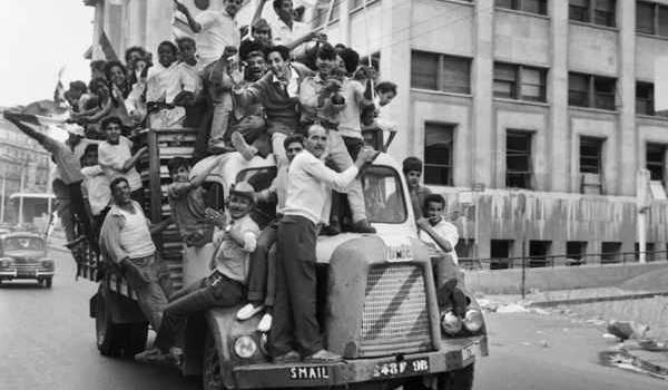 Juillet 1962 à Alger.