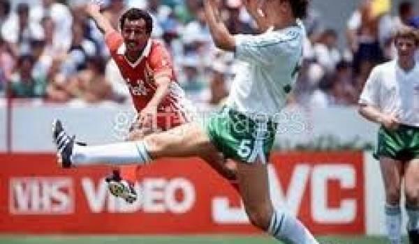 Mohamed Kaci Saïd, ancien milieu de terrain de l'équipe nationale.