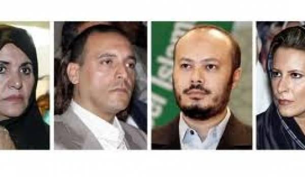 Les Kadhafi seraient sur le départ de notre pays.