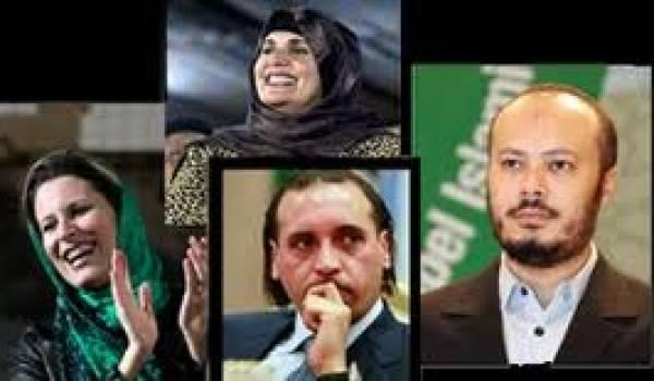 Les Kadhafi sont en Algérie depuis l'été dernier.