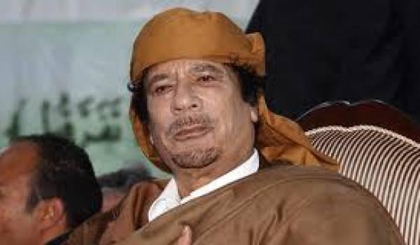 Kadhafi a été exécuté pendant son arrestation le 20 octobre dernier.