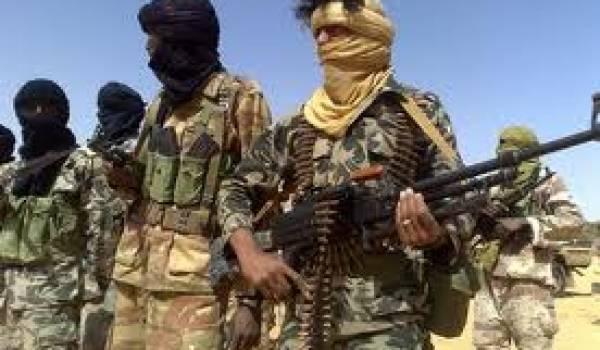 Les combattants touareg sont toujours sur le pied de guerre contre le pouvoir central.
