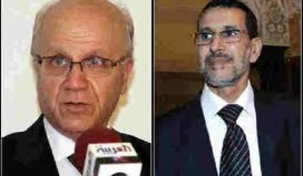 Mourad Medelci et Saad Eddine Othmani, ministre marocain des Affaires étrangères.