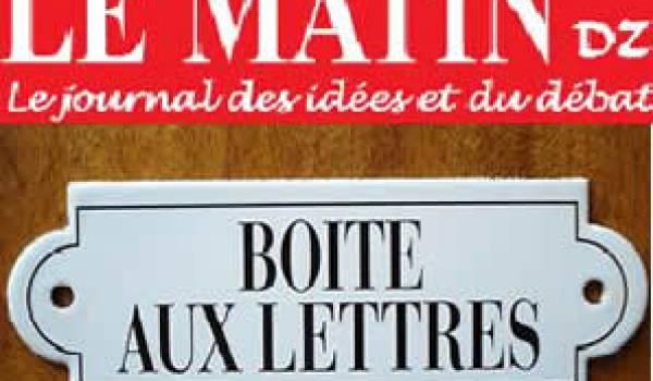 Bouteflika veut installer le chaos