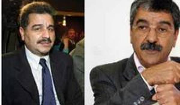 Djamel Fardjallah et Said Sadi