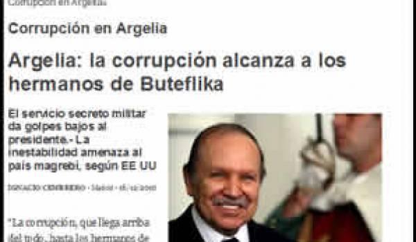 Le câble de WikiLeaks qui n'a été publié nulle part en Algérie : la corruption va jusqu'aux frères de Bouteflika