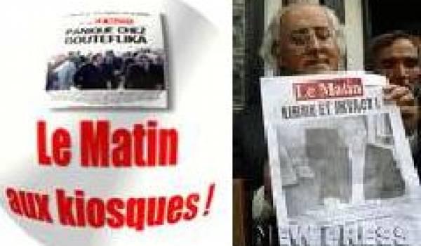 Une défaite pour le régime de Bouteflika : LE MATIN de nouveau classé parmi la presse écrite nationale