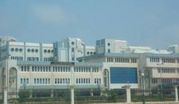 L'hôpital d'Oran.