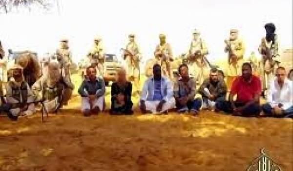 Douze Européens sont détenus quelque part au Sahel.