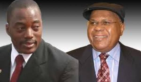 Kabila et Tshisekédi, les deux candidats en lice.