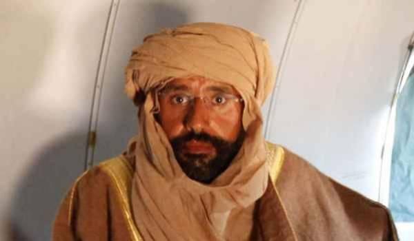 Seif El Islam Kadhafi.