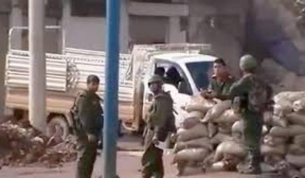 La présence des observateurs n'a pas empêché l'armée à tuer les manifestants et à torturer.