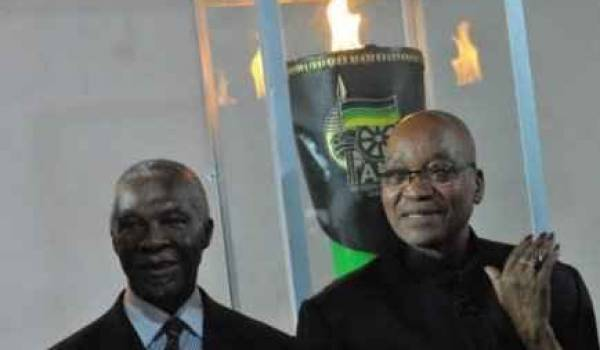 Jacob Zuma, président de l'Afrique du Sud.