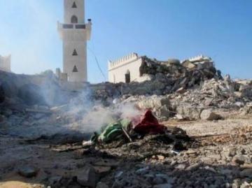 Ce samedi, destruction d'un mausolée à Tripoli.
