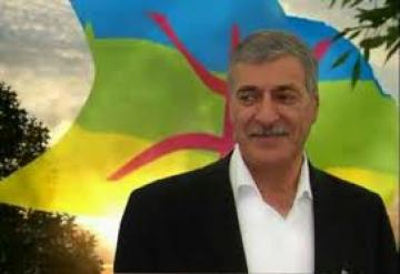 Ferhat Mehenni, président du GPK