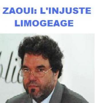 Amine Zaoui accuse Khalida Toumi de